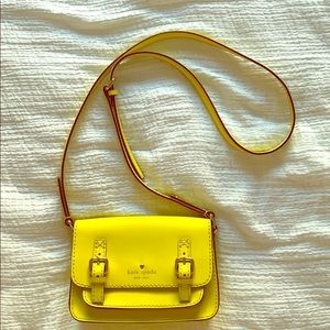 Kate Spade Bright Yellow Crossbody Bag